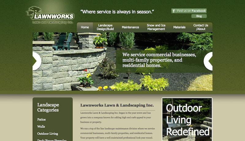 Website Design For Garden Centers Wholesale Nurseries